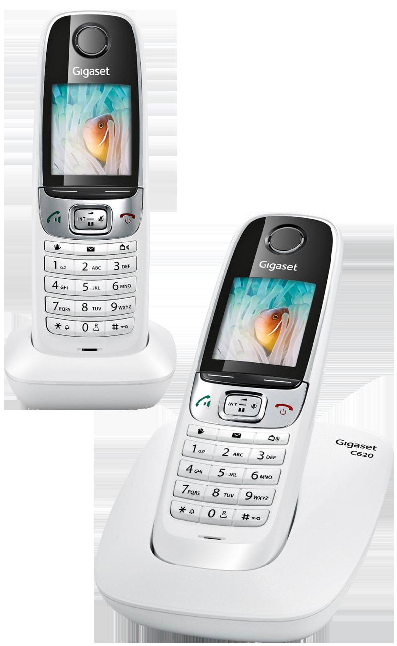 Téléphone fixe Siemens Gigaset C620 duo