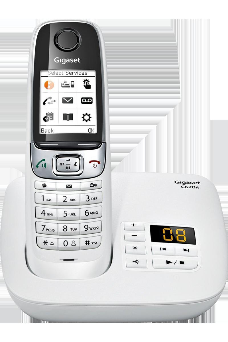 Téléphone fixe Gigaset C620A avec répondeur