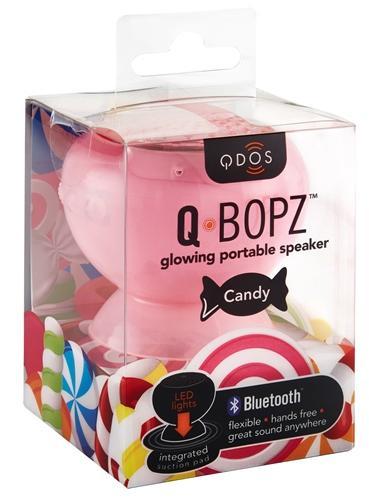 Mini enceinte Qdos Candy rose