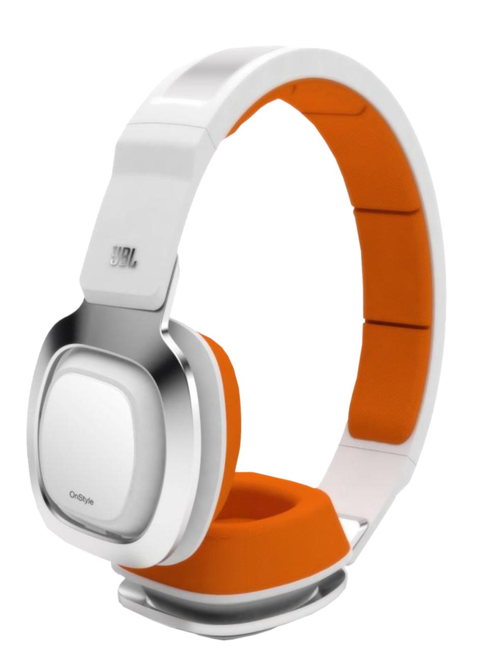 Casque JBL J55I Blanc Orange