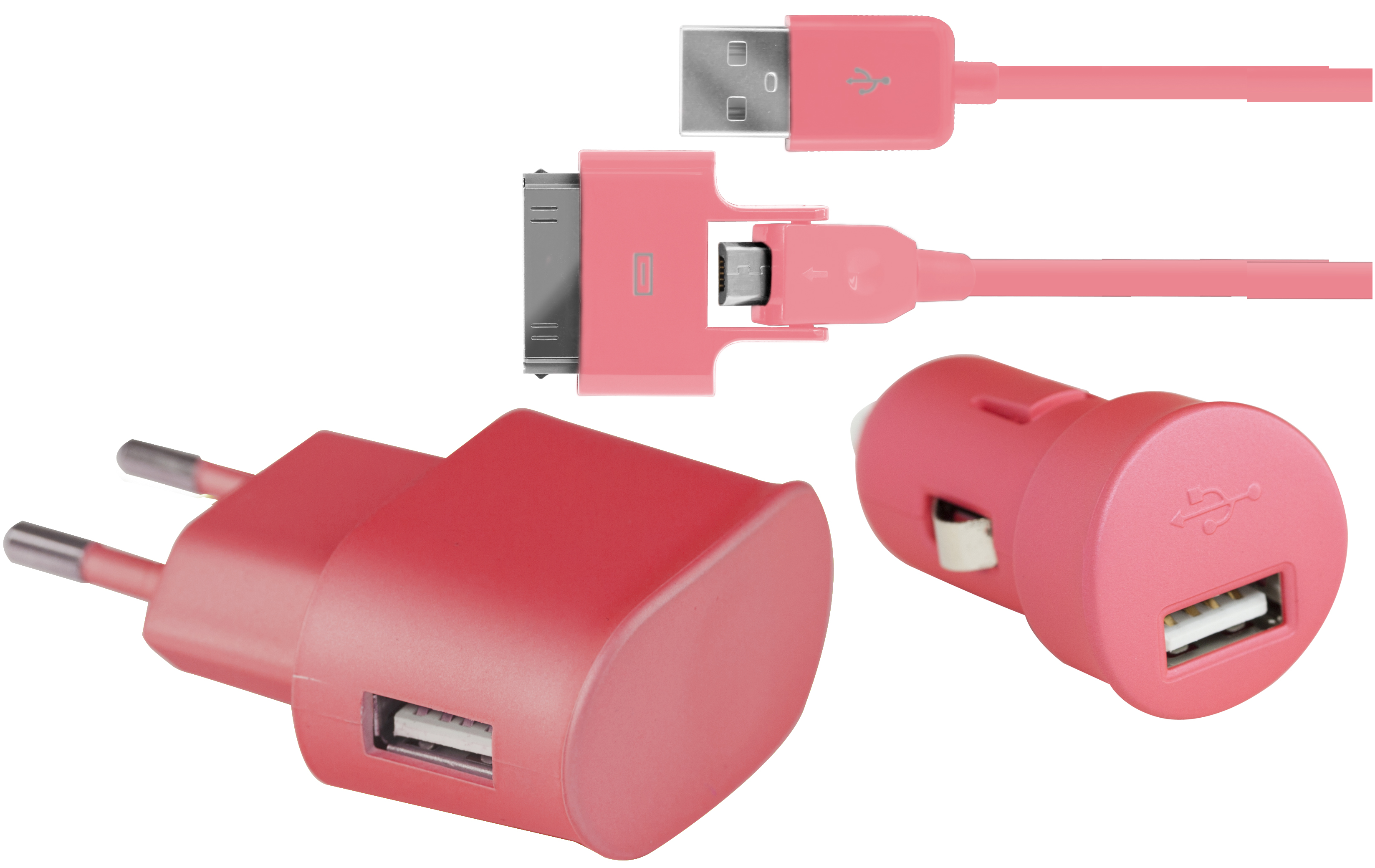 Kit Charge Colorblock Rose