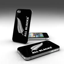 Coque All Blacks pour iPhone 5/5S noire