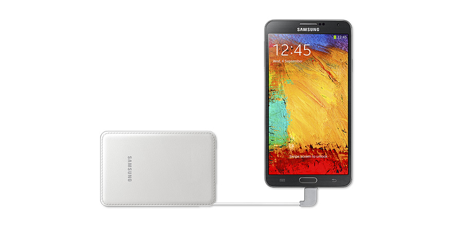 Pack Batterie externe SAMSUNG Blanc