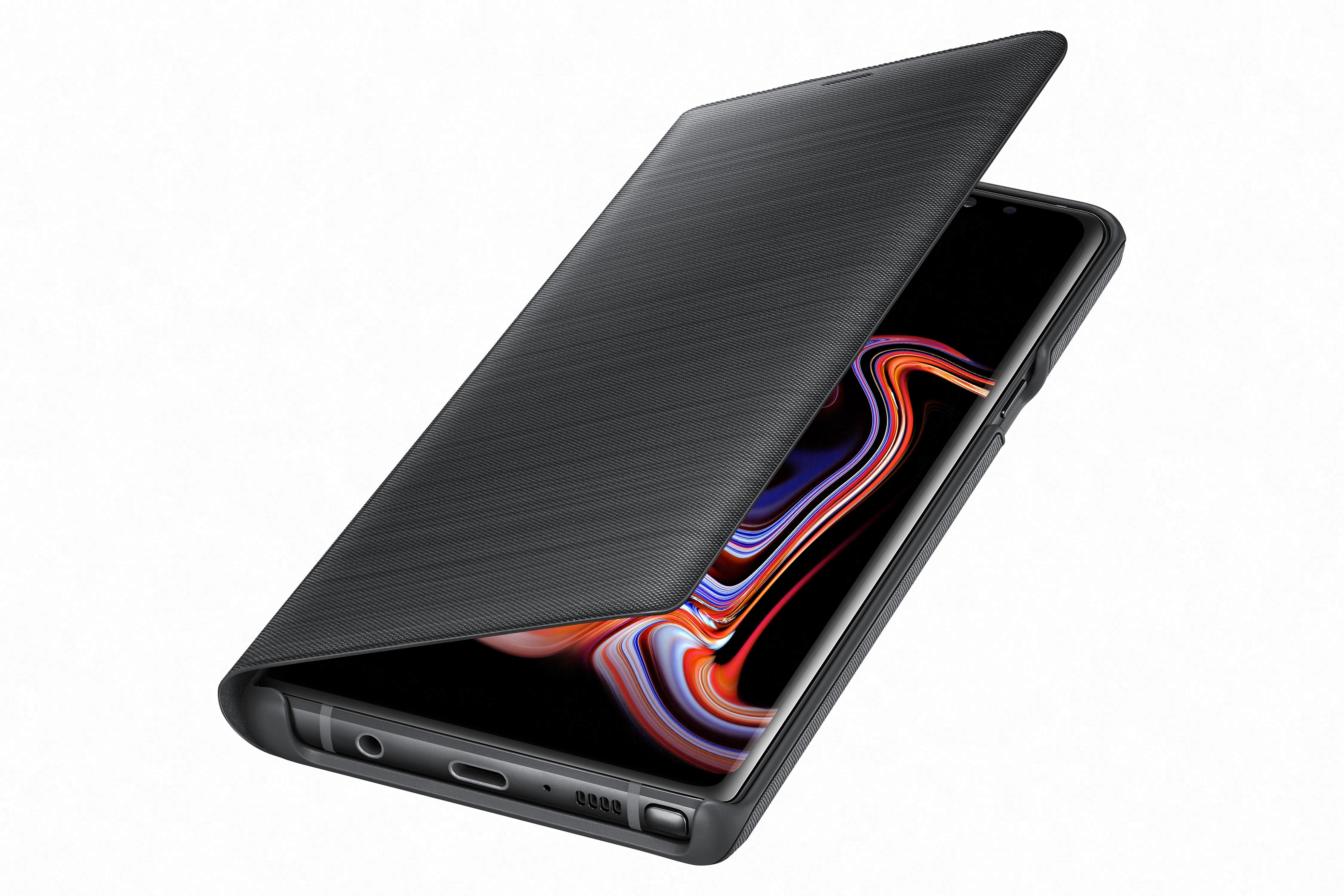 Etui Led View Galaxy Note9 noir