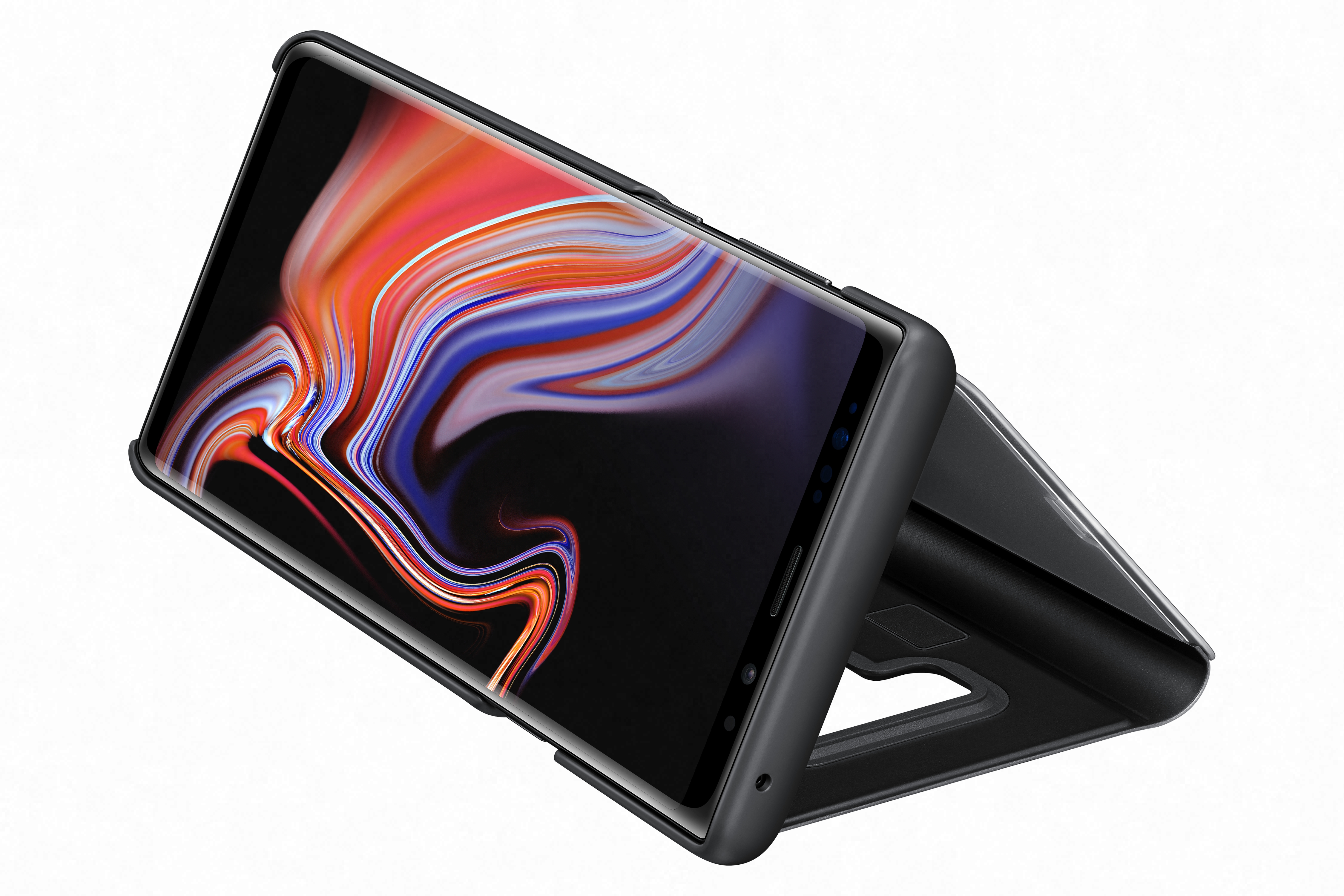 Clear View Galaxy Note9 noir