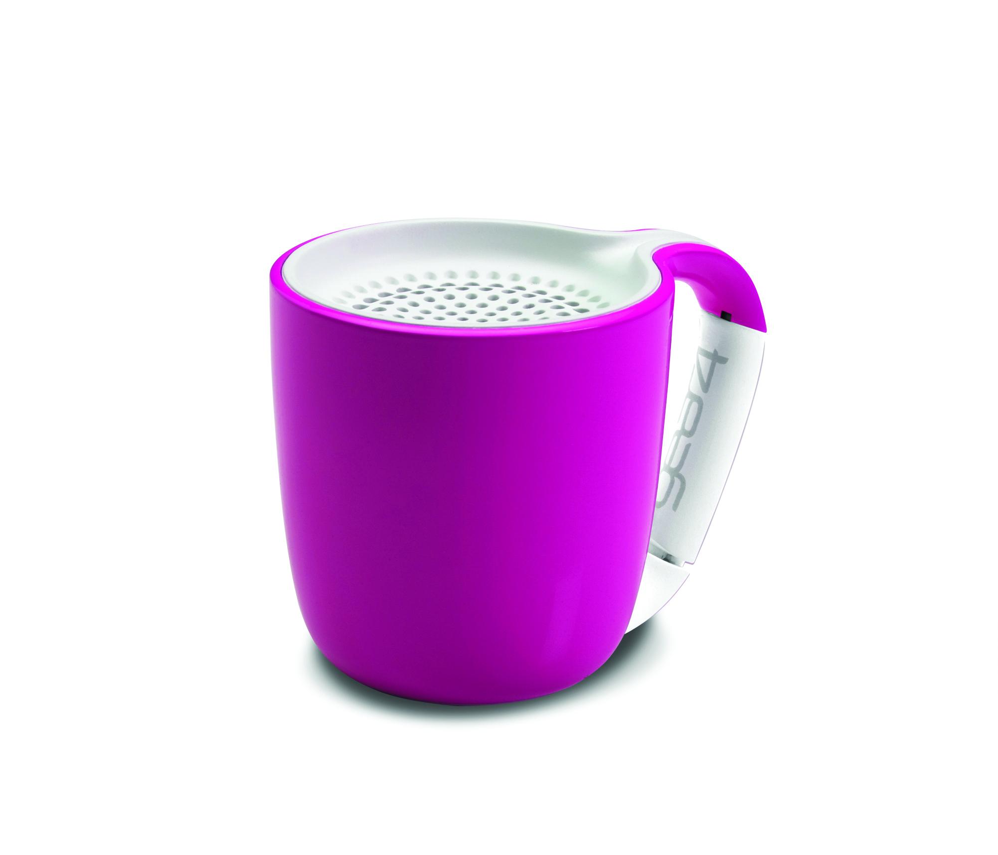 Mini Enceinte Bluetooth Espresso Gear4 rose