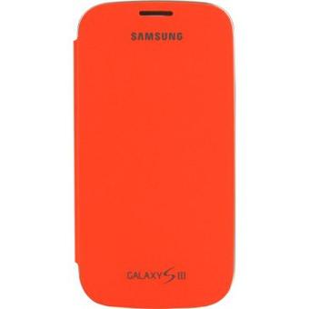 Etui Folio Orange Samsung Galaxy S3 mini