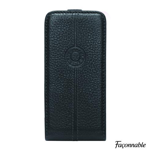 Etui flap Façonnable noir Iphone 5/5s