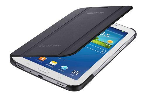 Bookcover gris Samsung Tab3 7'