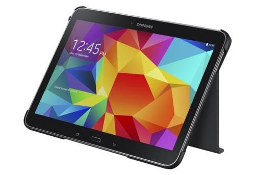 Book Cover Galaxy Tab 4 10.1 noir