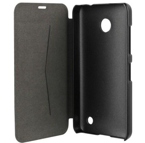 Etui folio noir Nokia Lumia 635