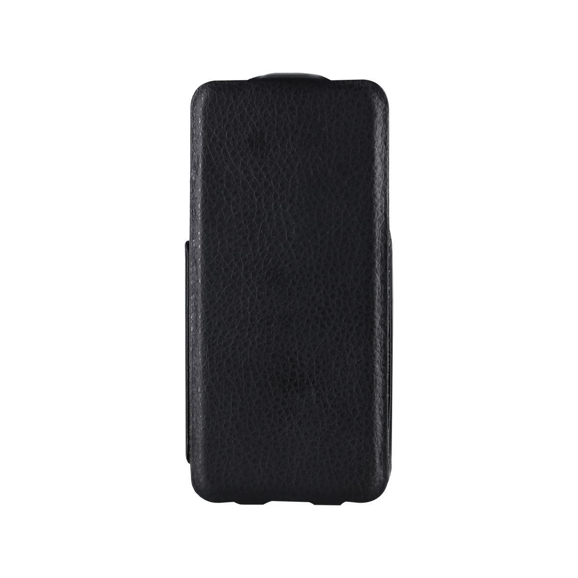 Etui cuir rabat slim noir iPhone 5