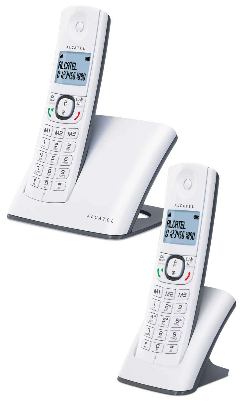 Téléphone fixe Alcatel F580 duo