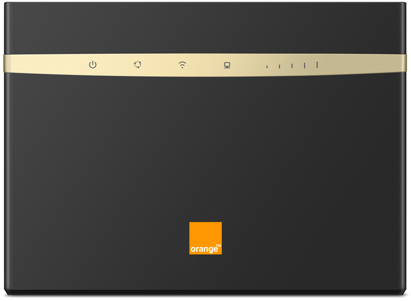 Orange Flybox 4G B525 noir