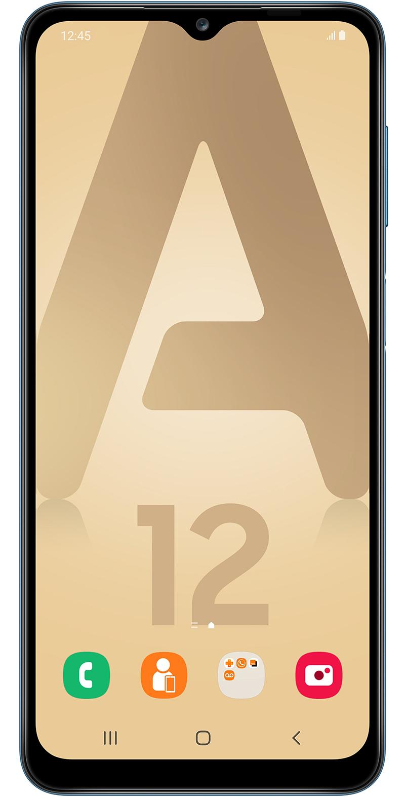 Samsung Galaxy A12 v2 bleu 64Go