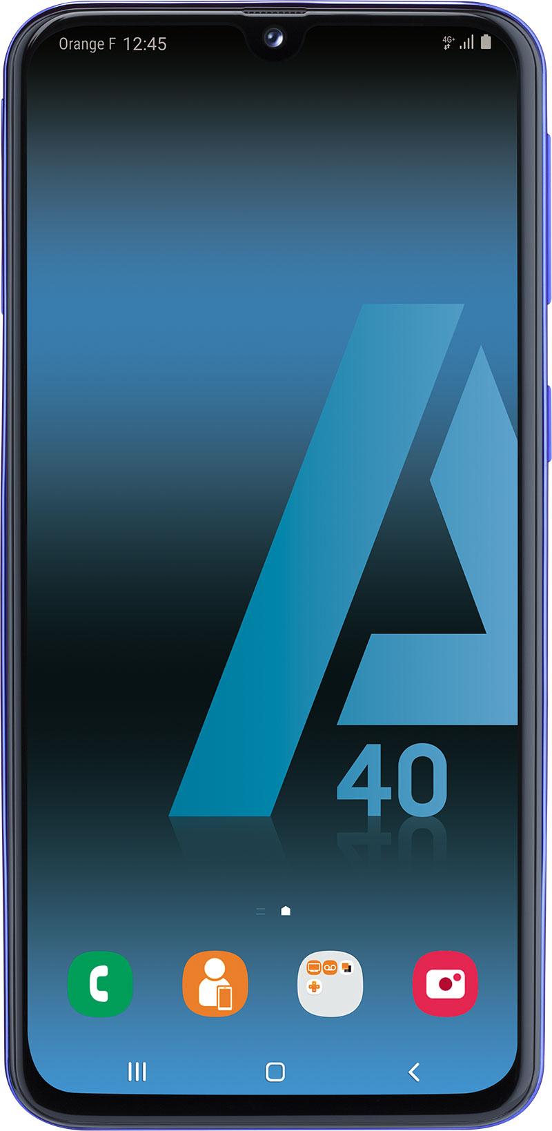 Samsung Galaxy A40 Dual Sim noir 64Go