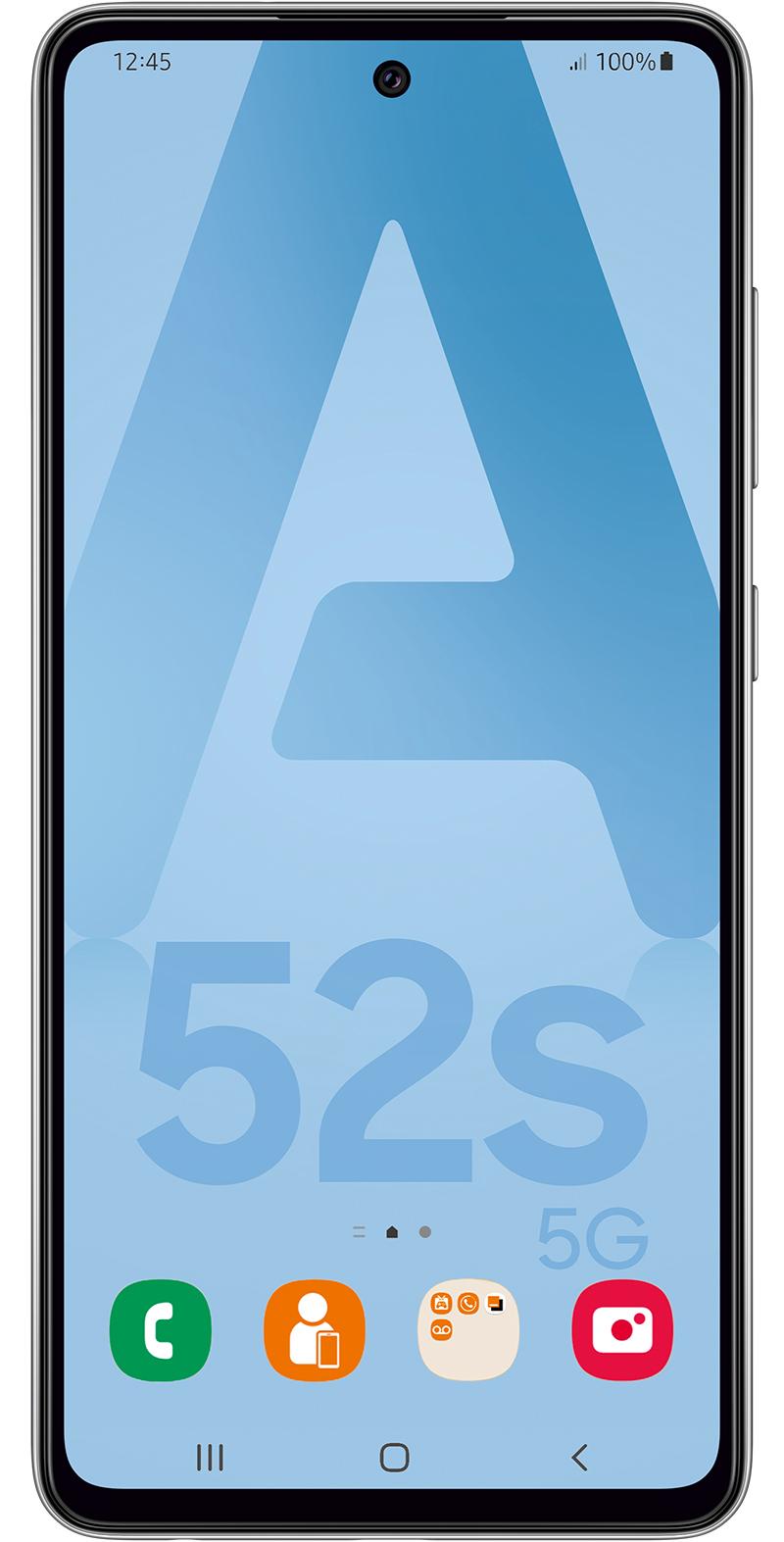 Samsung Galaxy A52s Edition Entreprise 5G noir 128Go