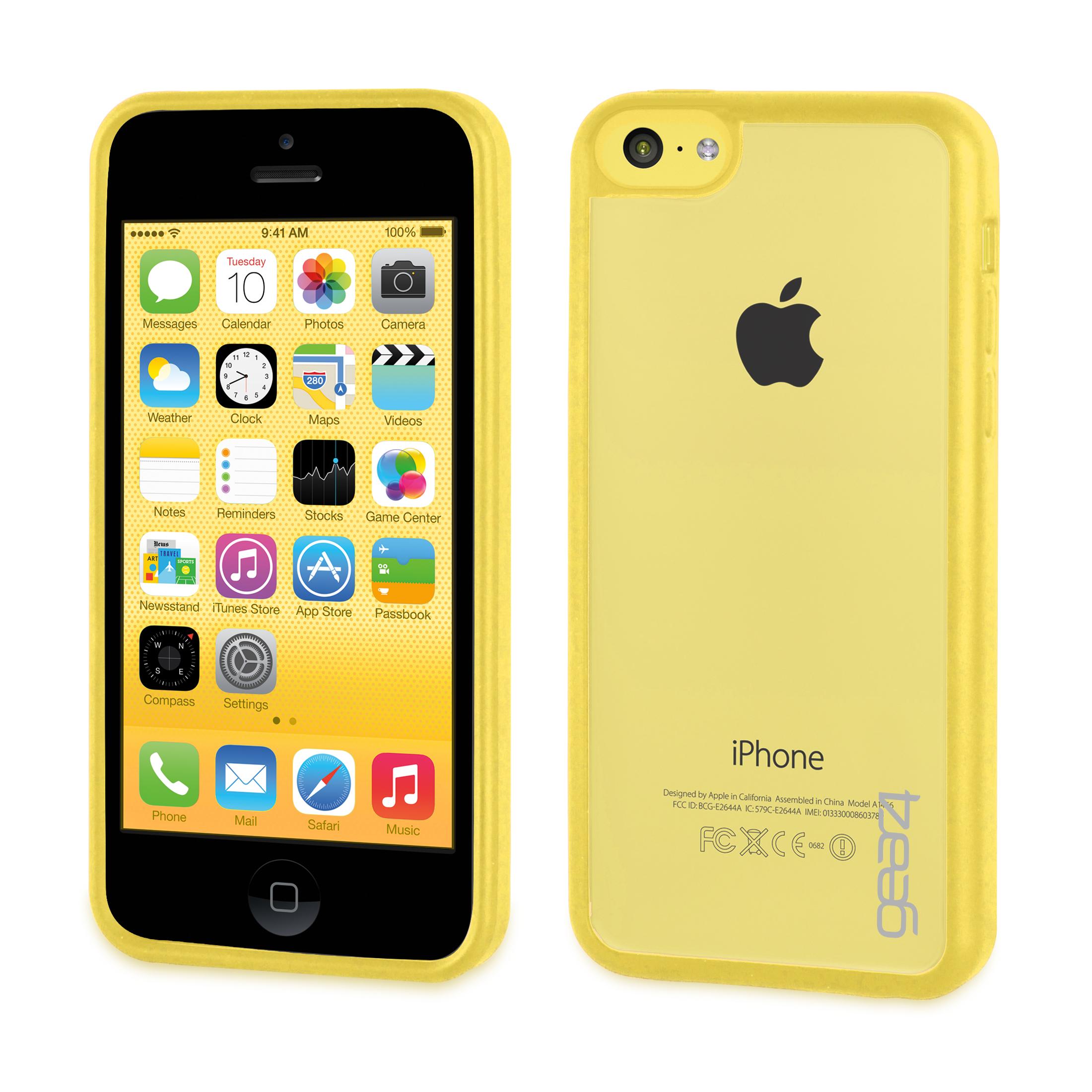 Coque Gear4 iPhone 5C jaune