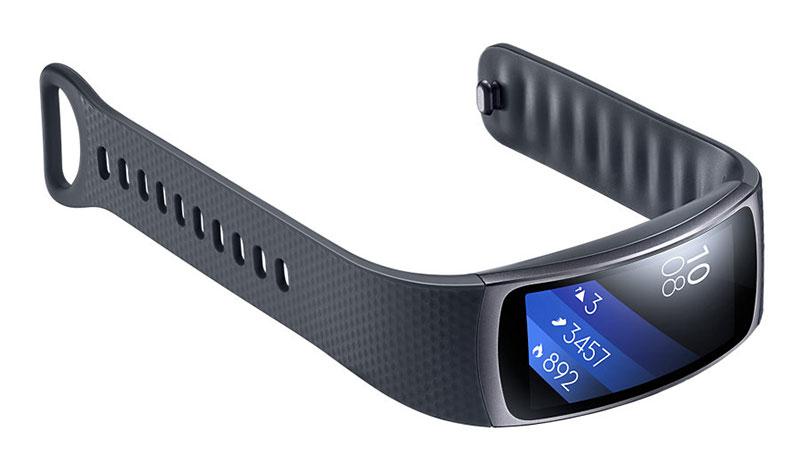 Samsung Gear Fit2 taille L noir