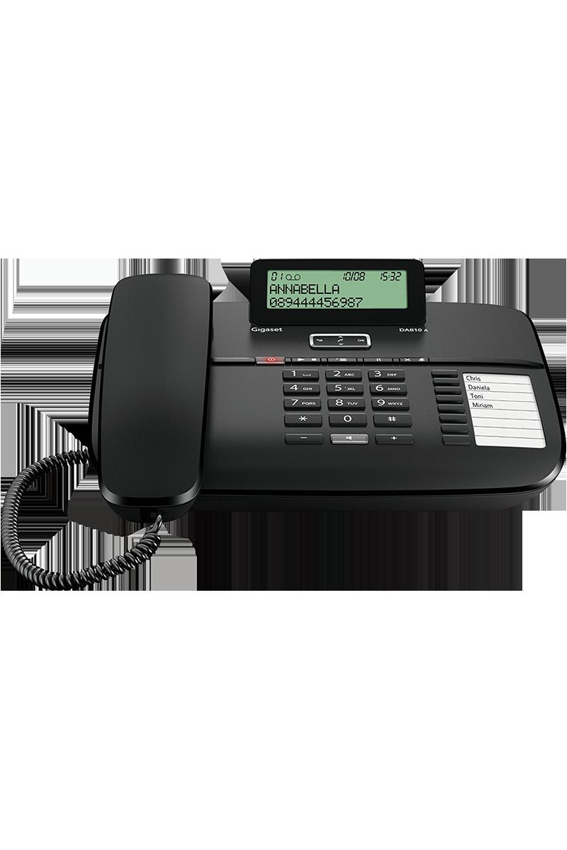 Téléphone fixe Gigaset DA810A avec répondeur