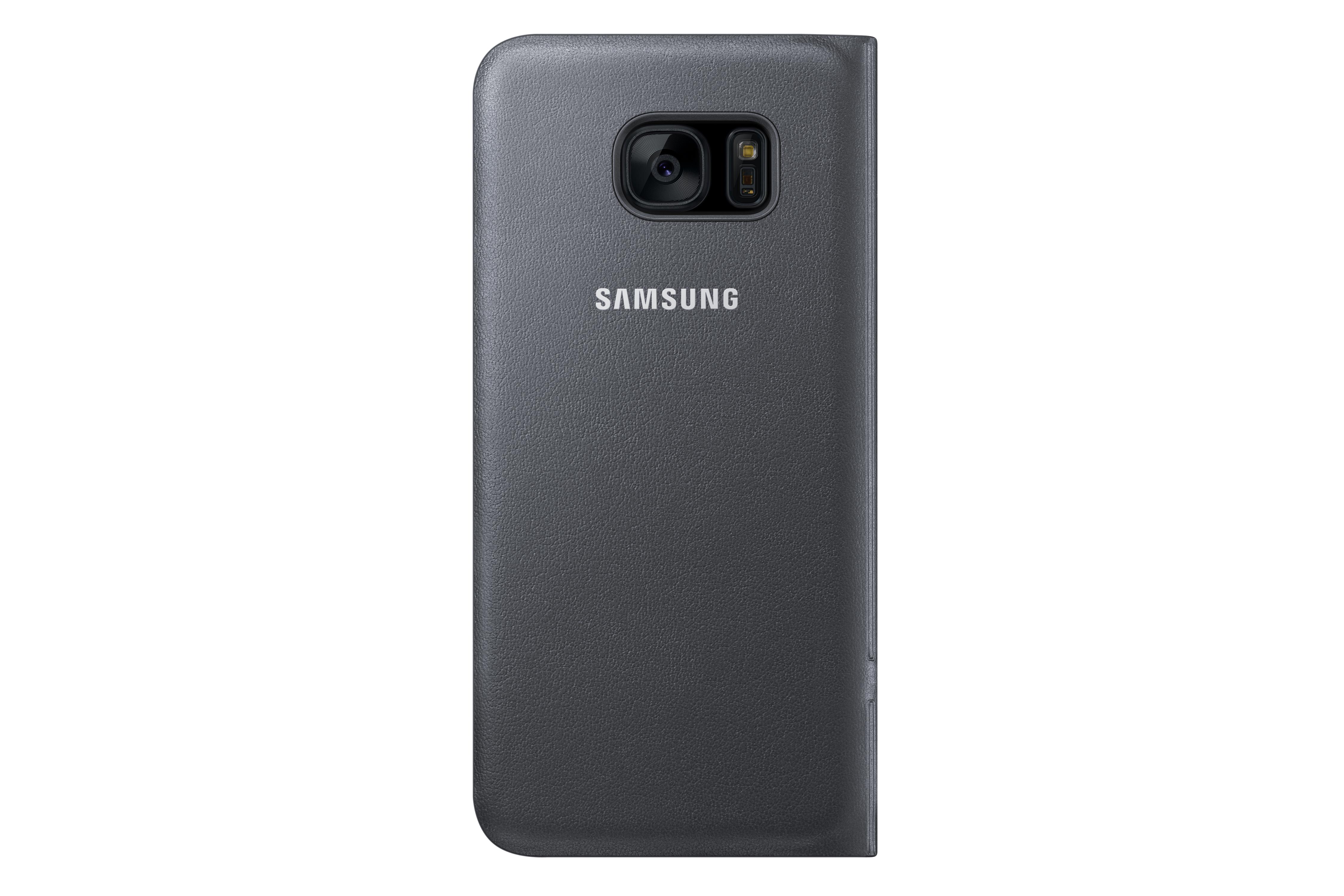 Etui à rabat LED View Samsung Galaxy S7 EDGE noir