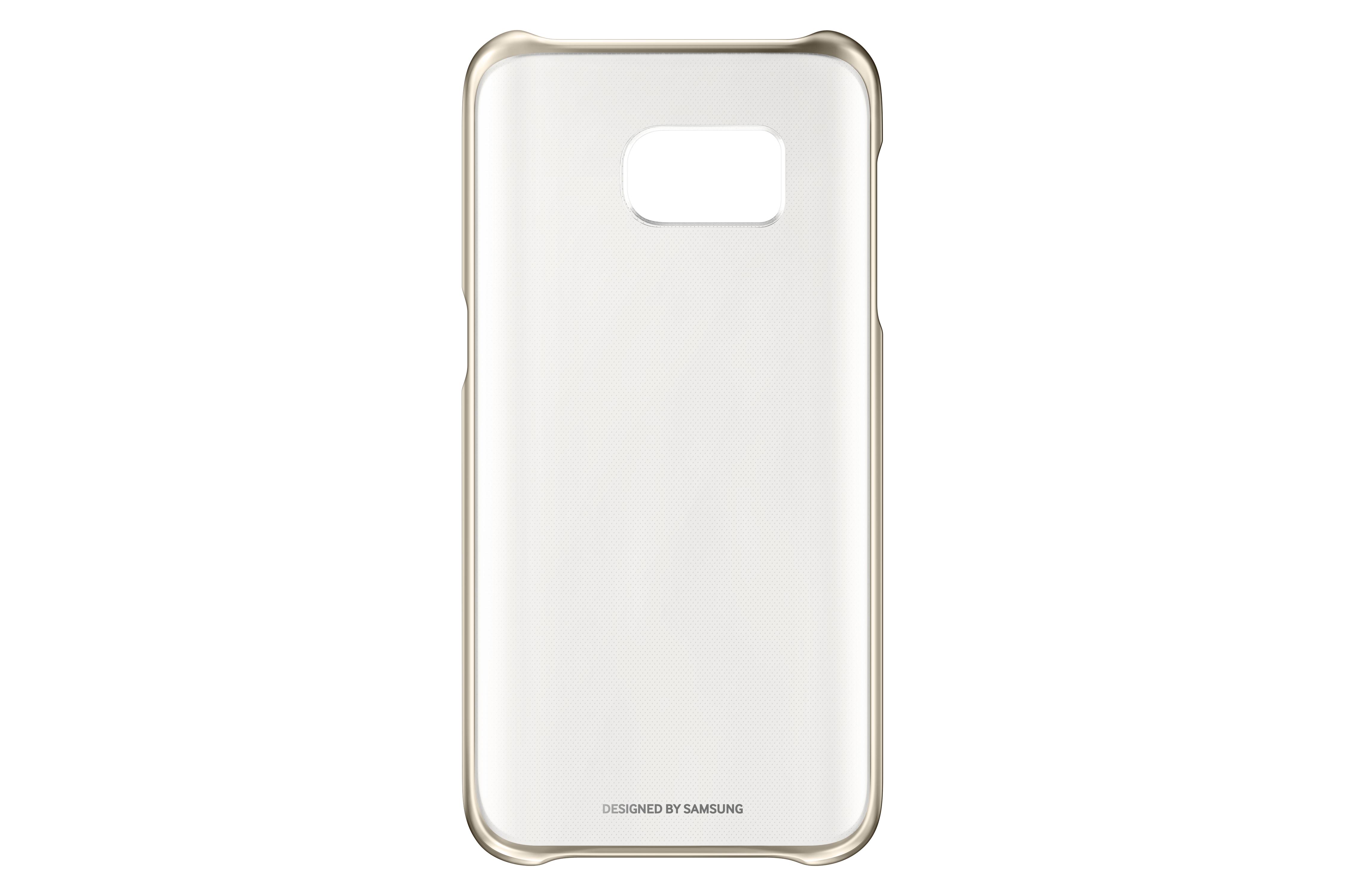 Coque transparente Samsung Galaxy S7 Or
