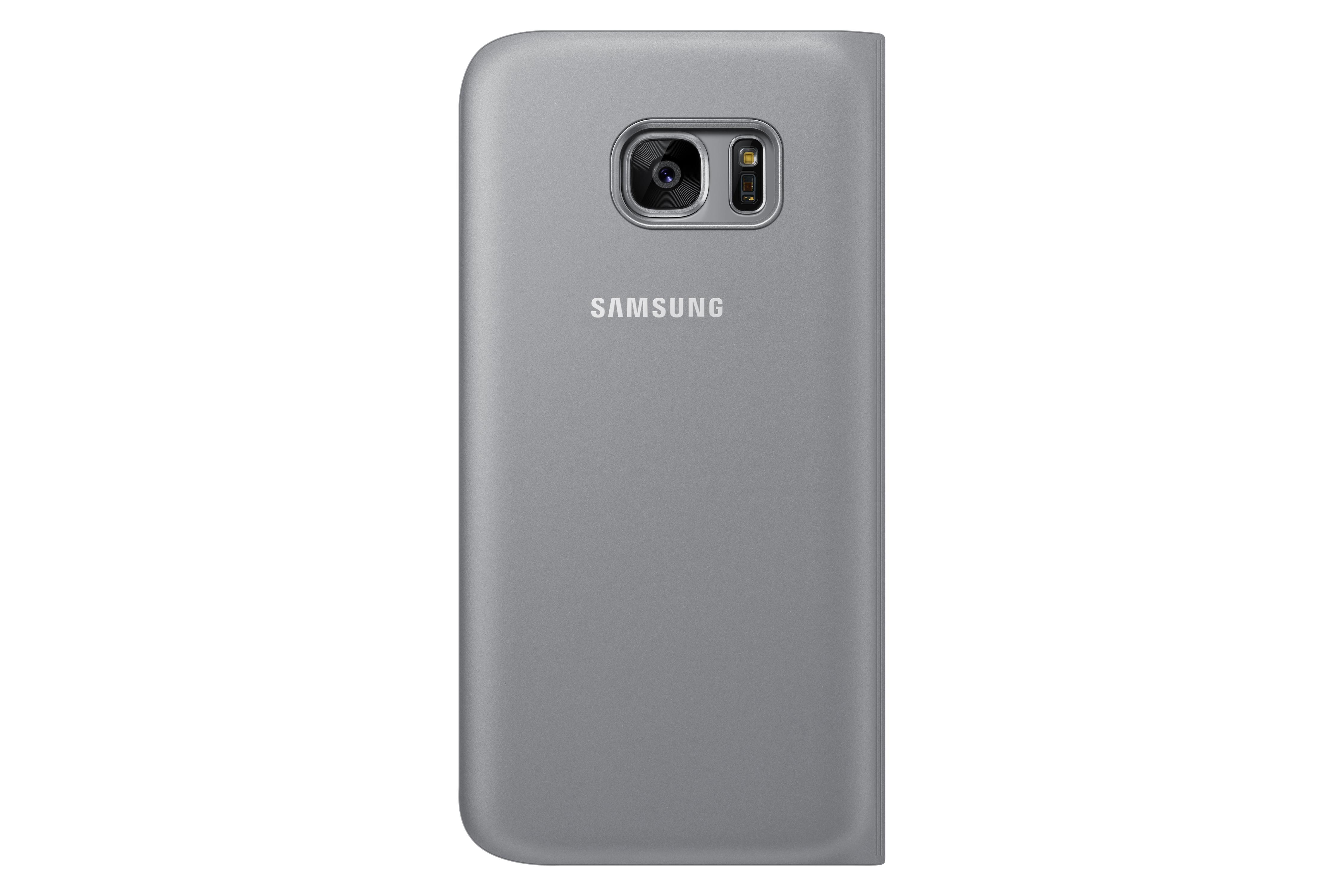 Etui à fenêtre S VIEW Samsung Galaxy S7 Argent