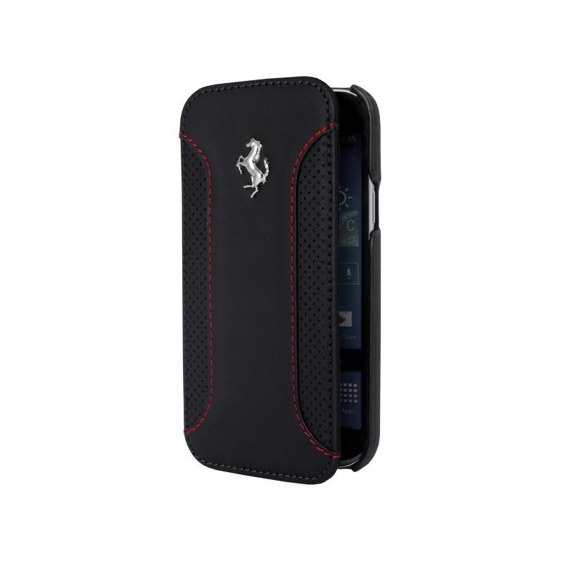 Etui folio Ferrari F12 noir pour Samsung Galaxy S5