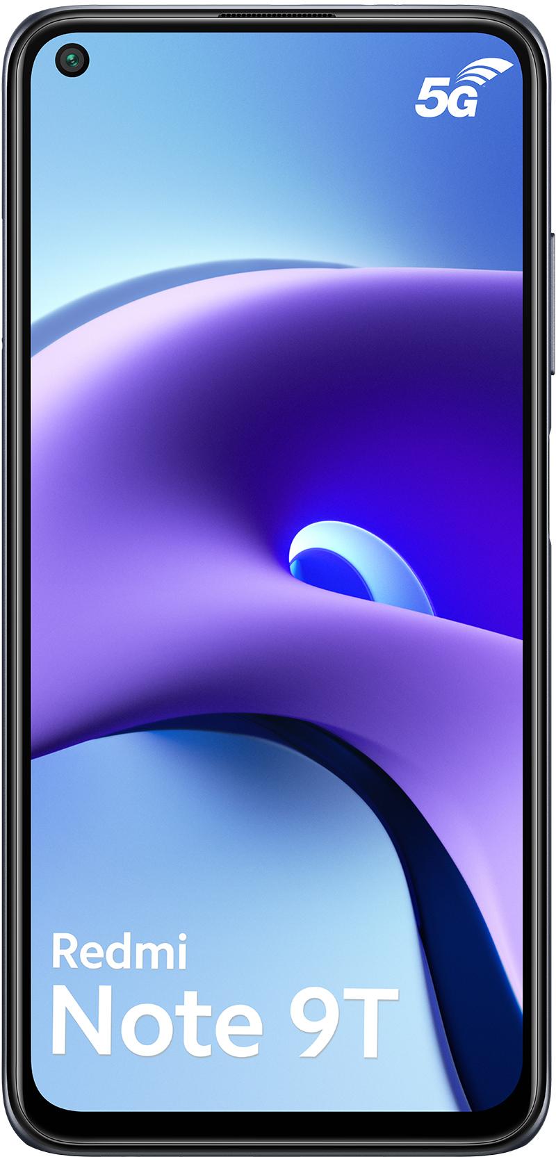 Xiaomi Redmi Note 9T 5G noir 128Go