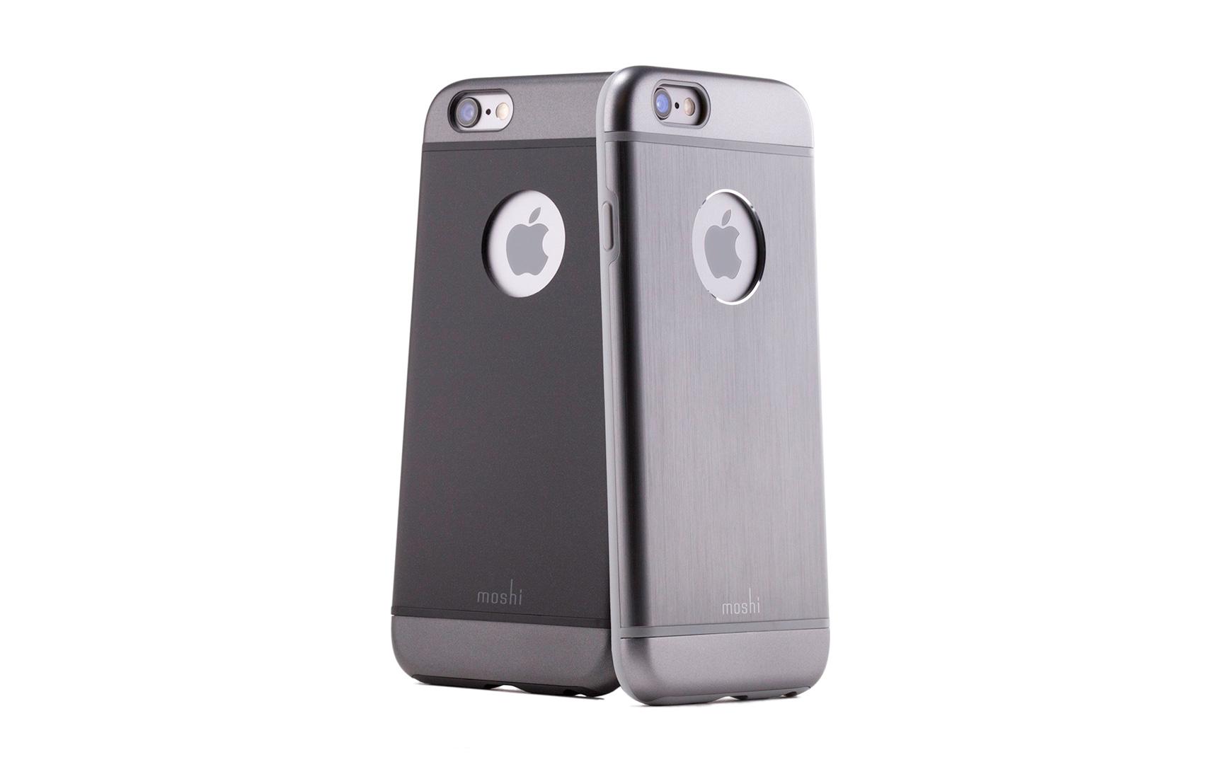 Coque Moshi Iphone 6 Plus titanium