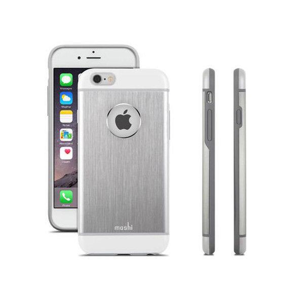 Coque Moshi Iphone 6 Plus argent