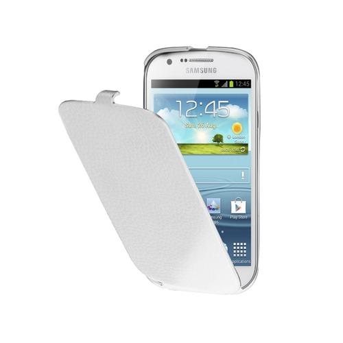 Etui Flap Anymod Galaxy Express Blanc