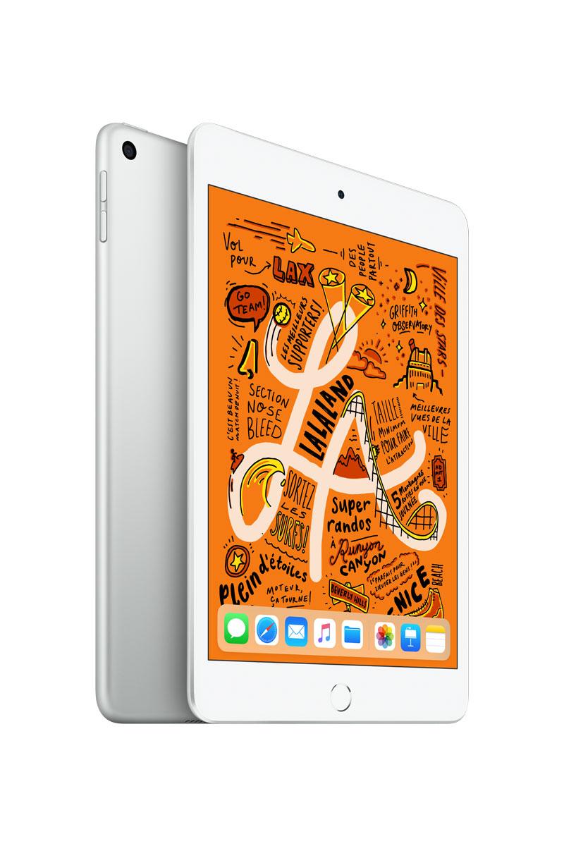 Apple iPad mini 5 argent 64Go