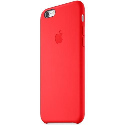 Coque en silicone iPhone 6 - Rouge