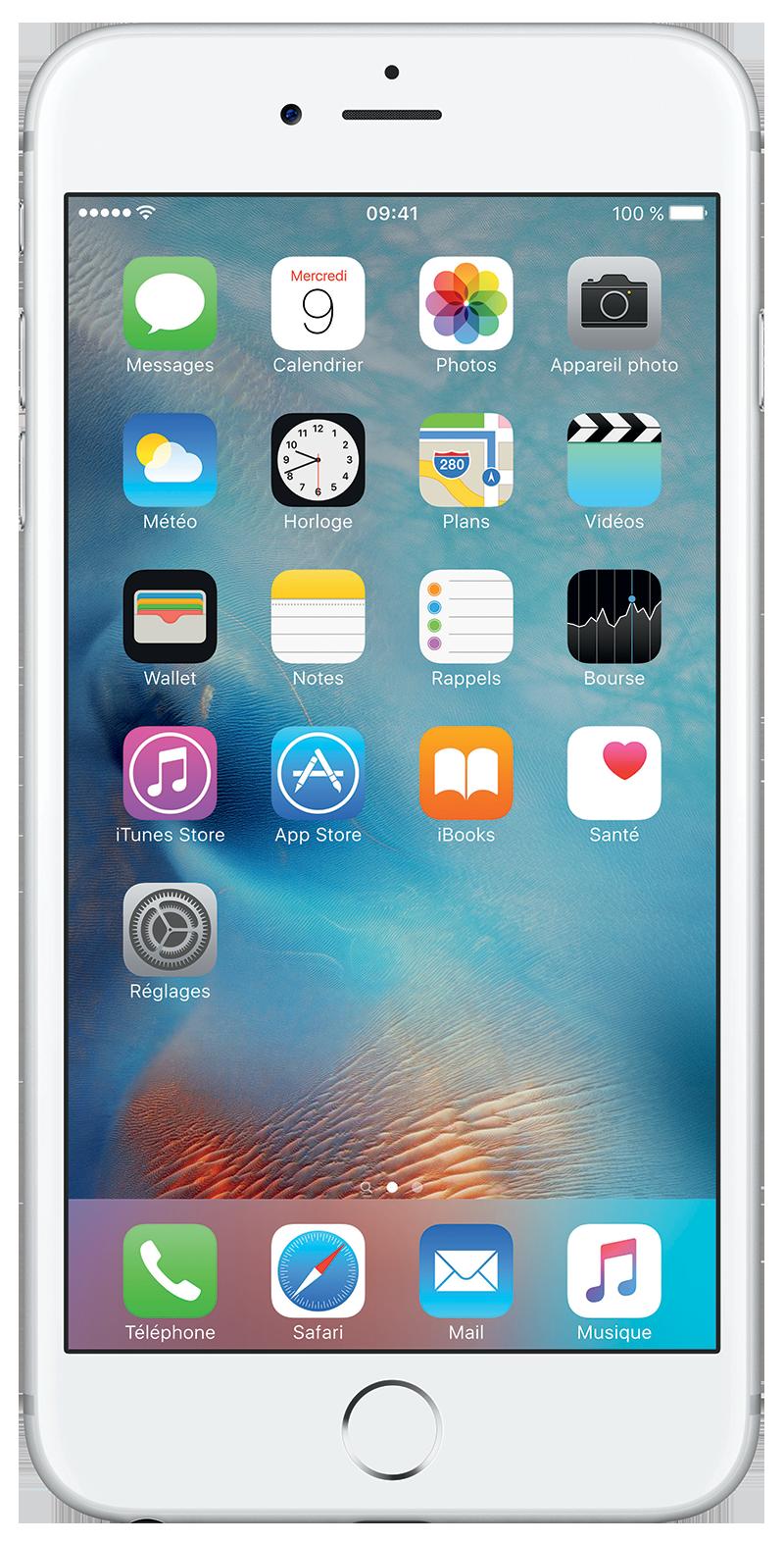 Apple iPhone 6s Plus Argent 32 Go