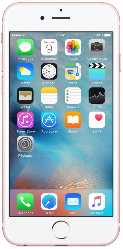 Apple iPhone 6s Rose 128Go