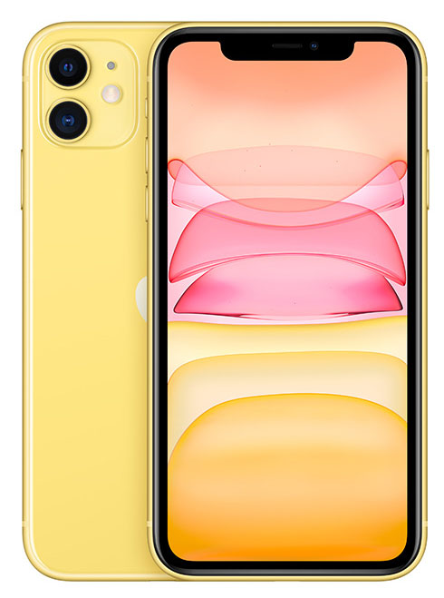 Apple iPhone 11 jaune 256Go
