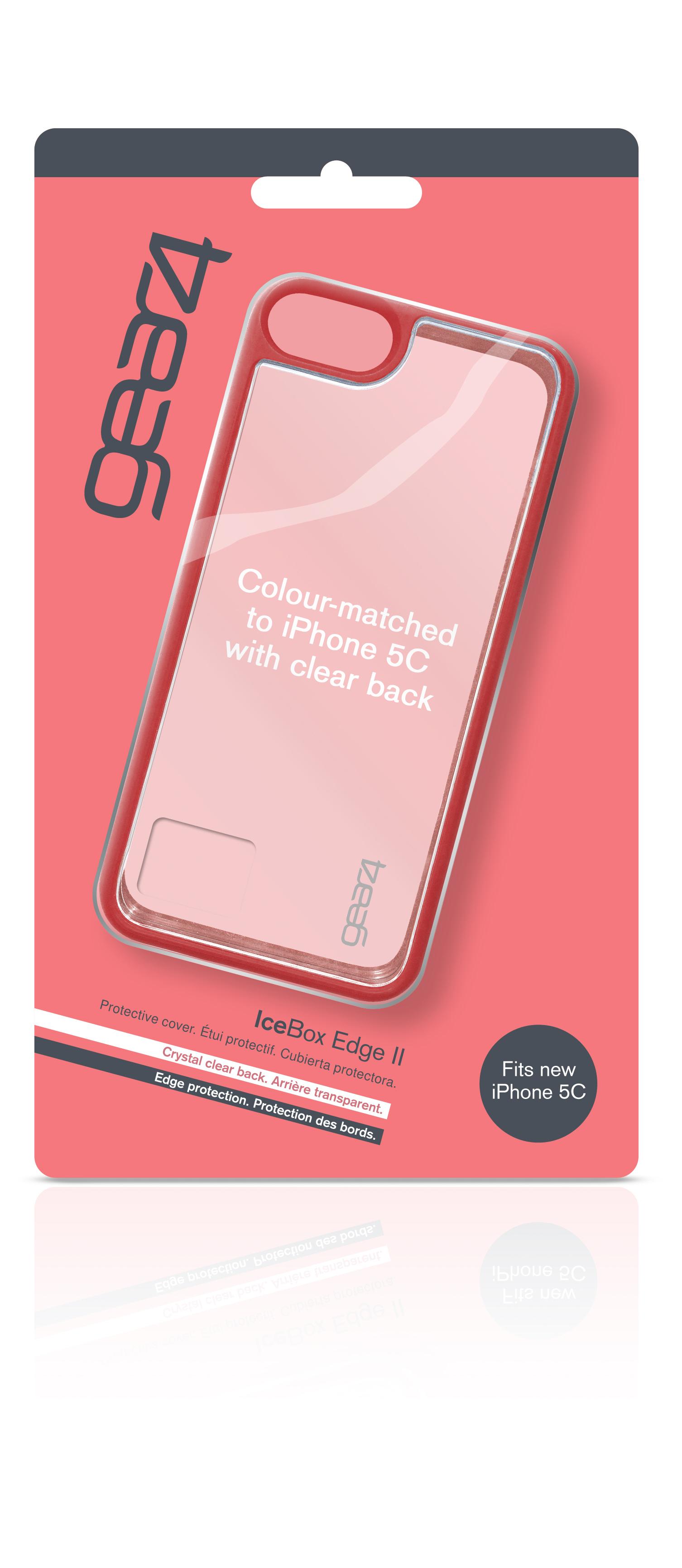 Coque Gear4 iPhone 5C rouge