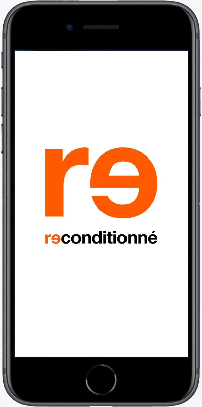 iPhone 8 reconditionné grade A+ gris 64Go