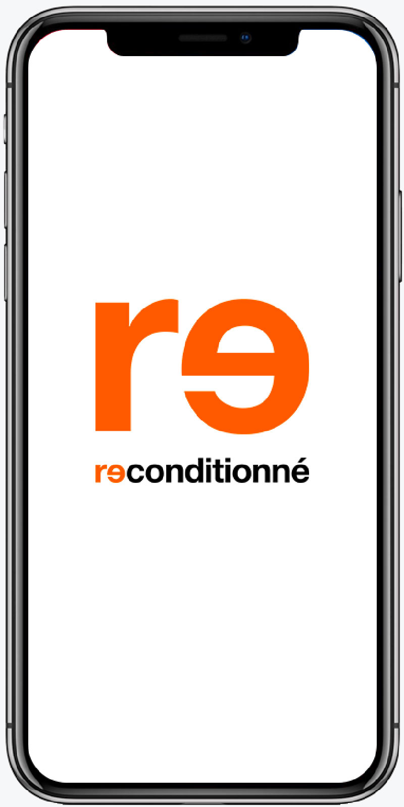 iPhone X  reconditionné  A+ gris sidéral 64Go