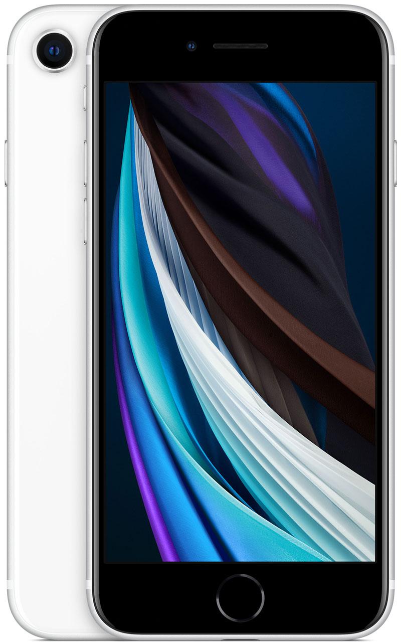 Apple iPhone SE 2020 blanc 256Go