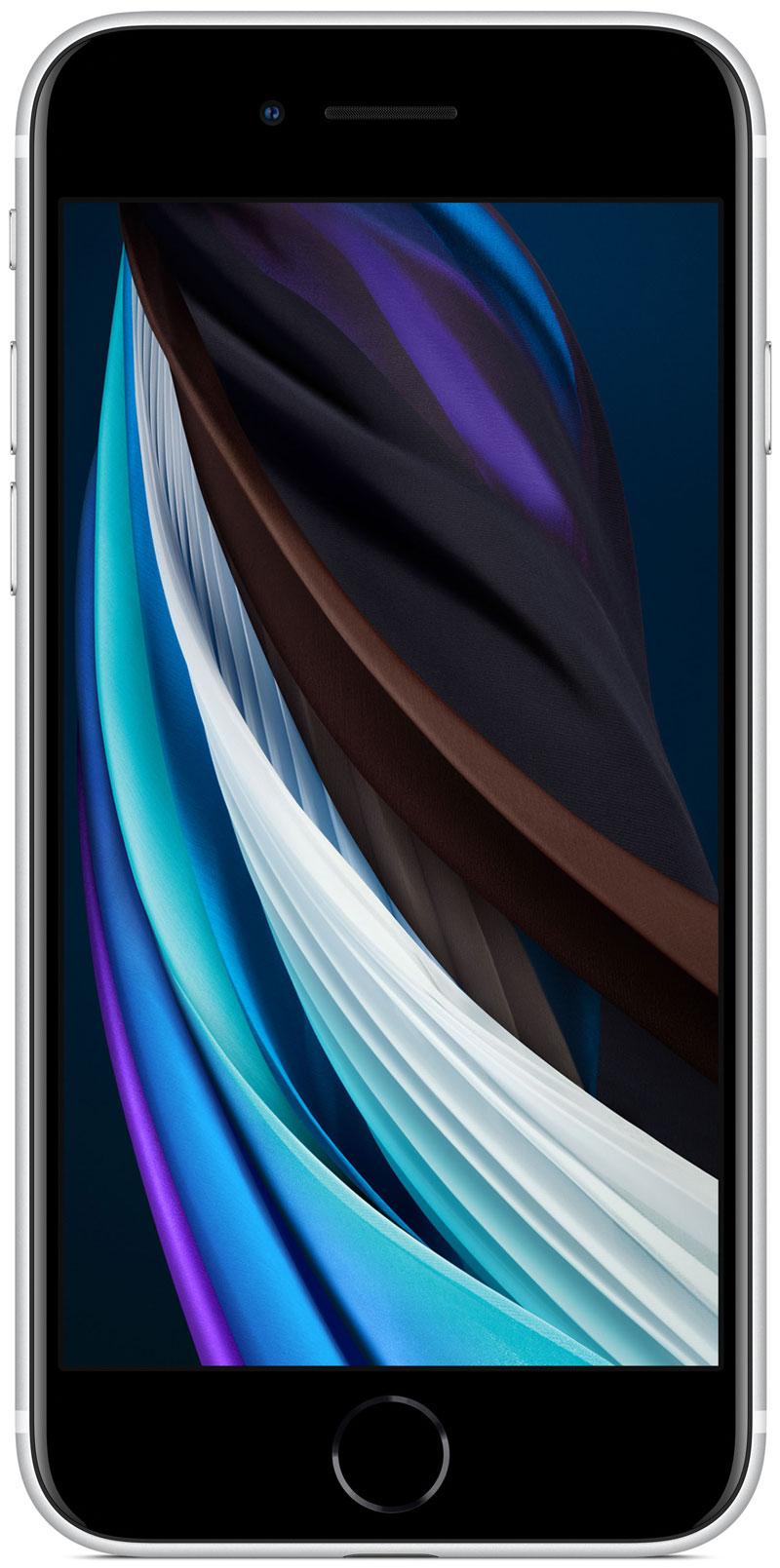 Apple iPhone SE blanc 128Go