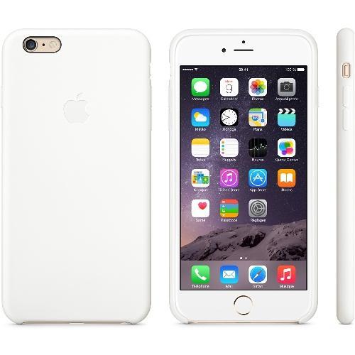 Coque en silicone iPhone 6 Plus - Blanc