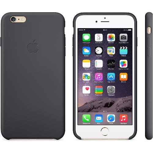 Coque silicone Iphone 6 Plus noir