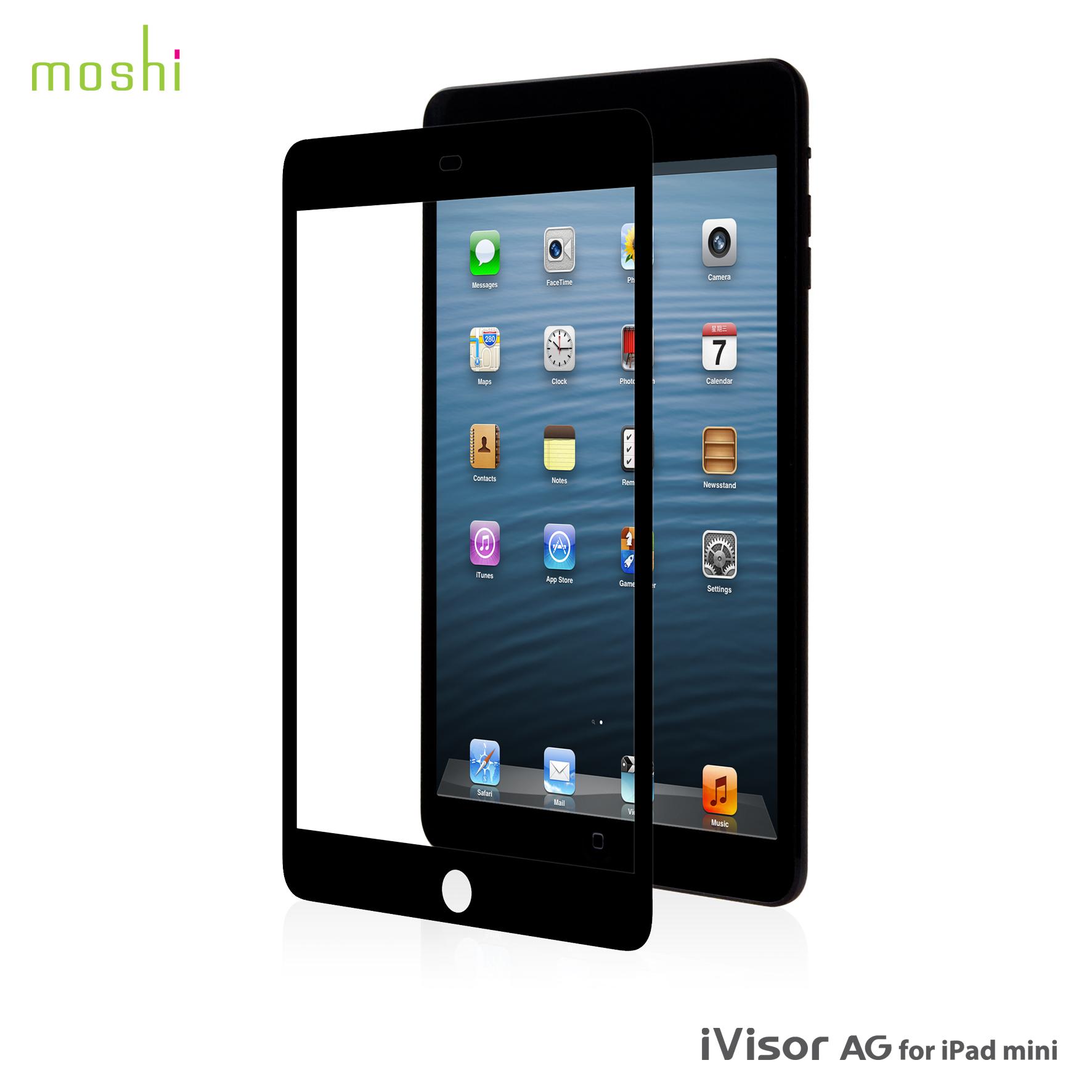 Film de Protection Ecran Moshi iVisor AG pour iPad Mini Noir
