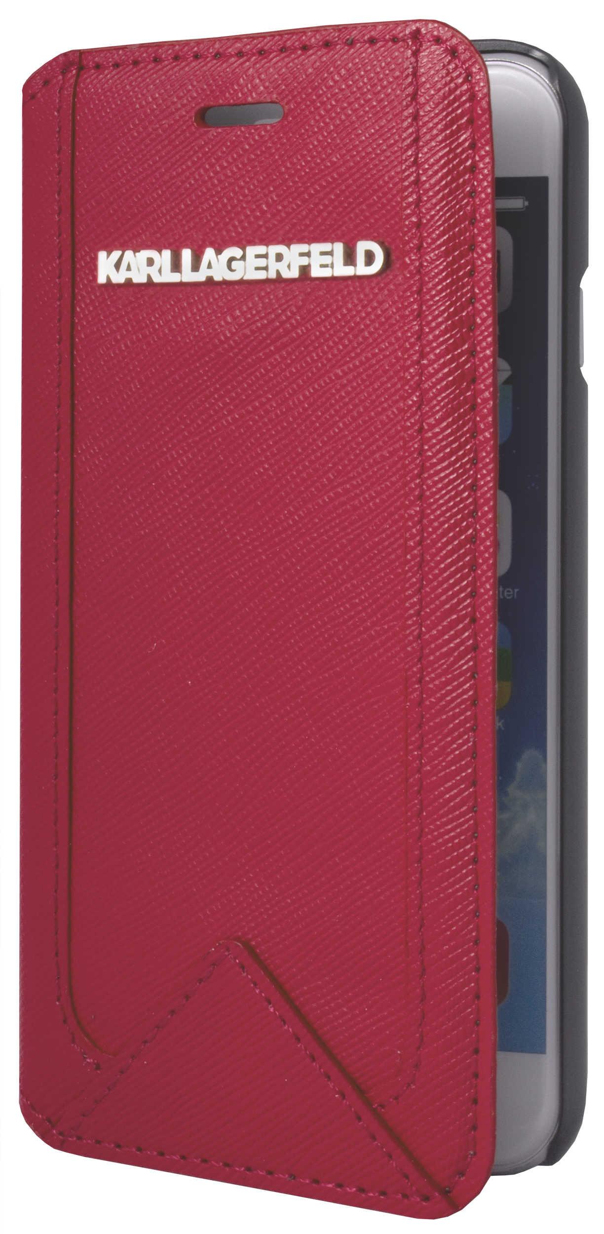 Folio Karl Lagerfeld Iphone 6 Rose