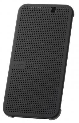 Etui folio Dot View Gris HTC One M9