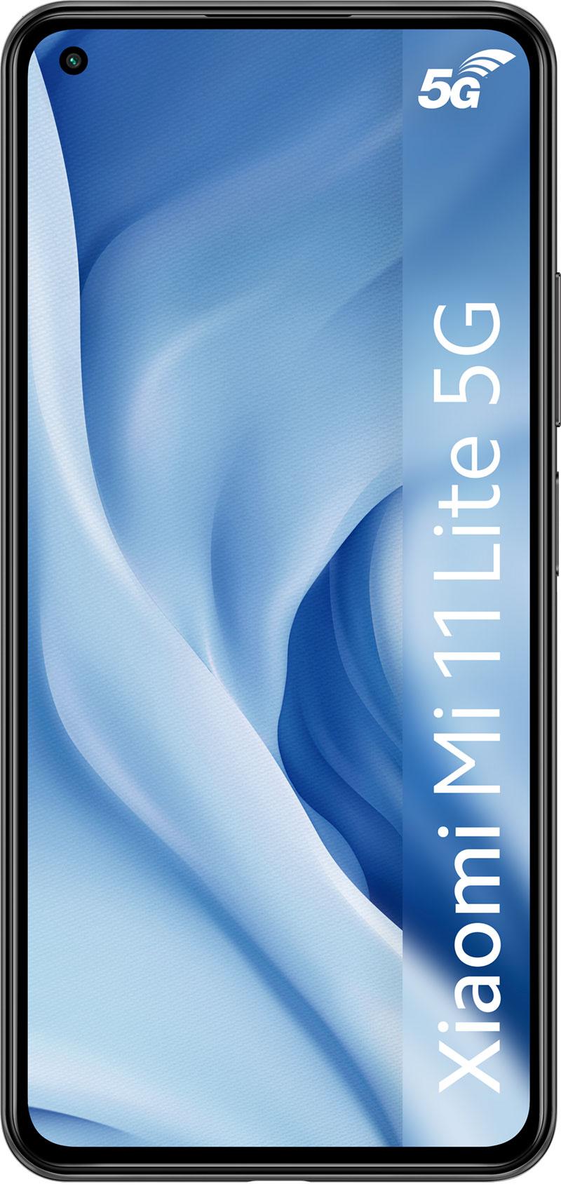 Xiaomi Mi 11 Lite 5G noir 128Go