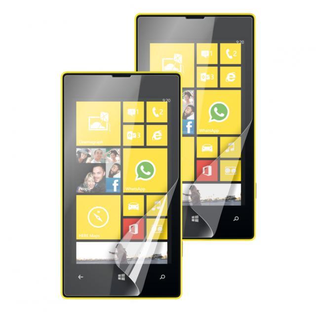 Lot de 2 films Nokia Lumia 520