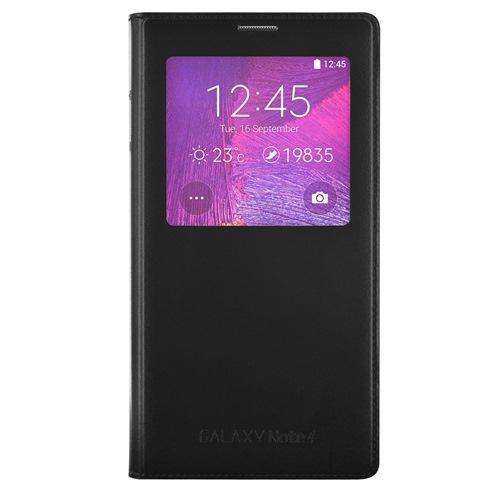 Etui Clear cover noir Galaxy Note 4